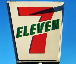 eleven, numbers, and seven image
