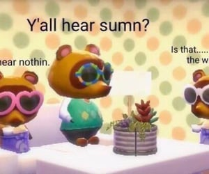 meme, reaction, and animal crossing image