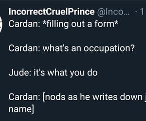 Jude, meme, and the cruel prince image