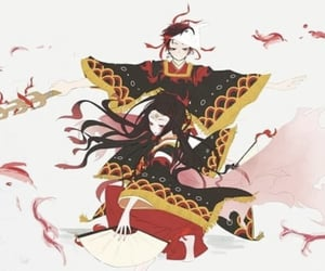 kimetsu no yaiba, nezuko, and tanjirou image