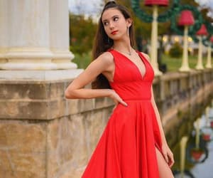 evening gown, prom dresses, and cocktail dresses image