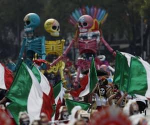 death, dia de los muertos, and Latin America image