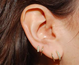 accessories, diamond, and earrings image