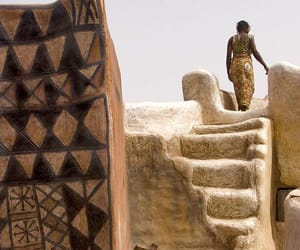 africa, architecture, and woman image