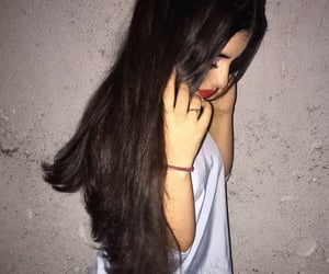 beautiful, longhair, and make up image