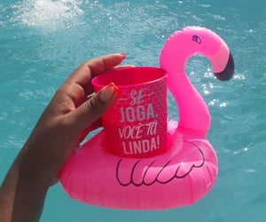 copo, piscina, and relax image