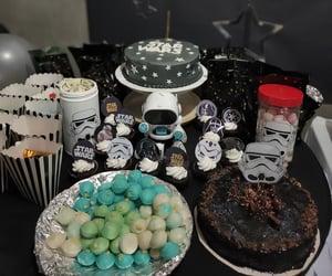 blackandwhite, cakes, and pastries image