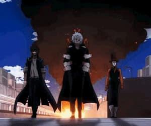 anime, dabi, and my hero academia image