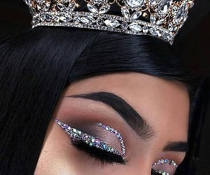 crown, makeupgoals, and onpoint image