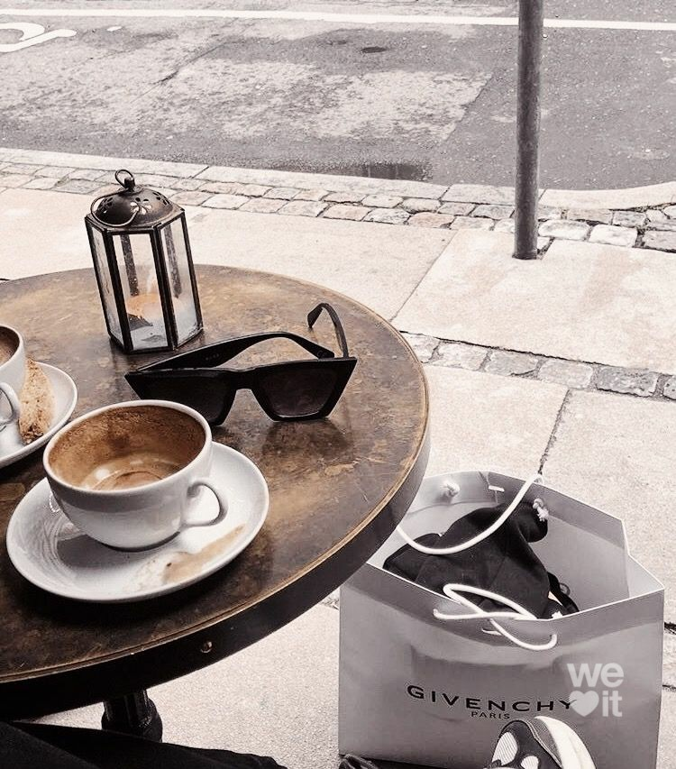 black and white, caffeine, and coffee time image
