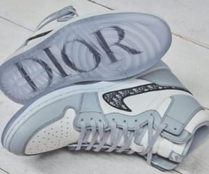 sneakers, dior, and nike image