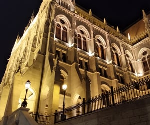 architecture, gothic, and hungary image