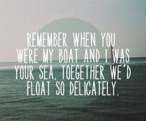 quote, sea, and text image