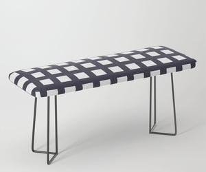 bench, sales, and furniture image