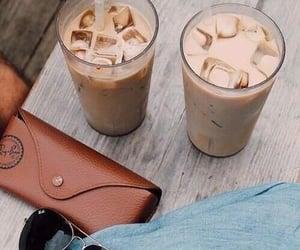 cafe, coffee, and iced coffee image