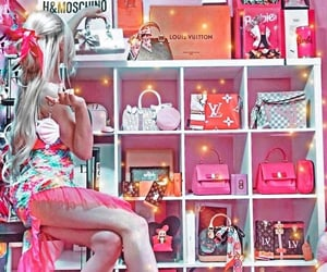 accessories, bags, and girl image