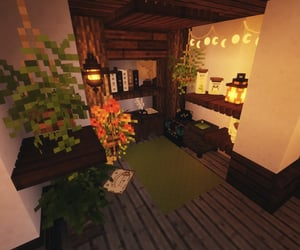 cottage, witchy, and minecraft image