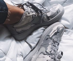 fashion, camo, and grey image