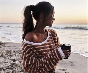 beach, jeans, and outfits image