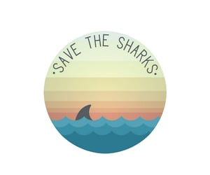 etsy, die cut stickers, and savetheoceans image