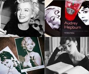 audrey hepburn, diva, and Marilyn Monroe image