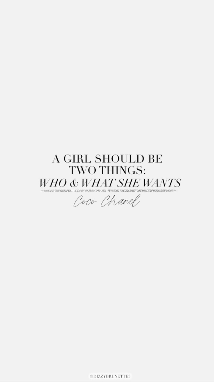 background, quote, and coco chanel image