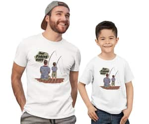etsy, fathers day gift, and dad son image