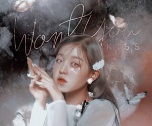 korean girl, psd, and edits image