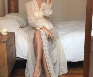 angel, dress, and femininity image