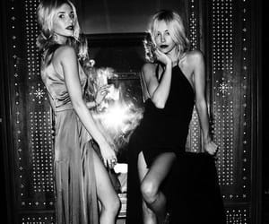 black and white, fashion, and party image