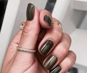 nails, art, and green image