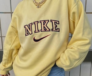 fashion, yellow, and nike image