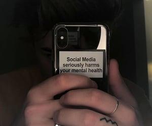 grunge, social media, and mental health image