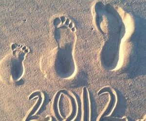 footprints and cute image