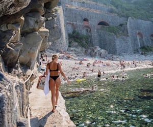 beach, europe, and summer image