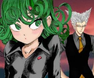 one punch man, tatsumaki, and garou image