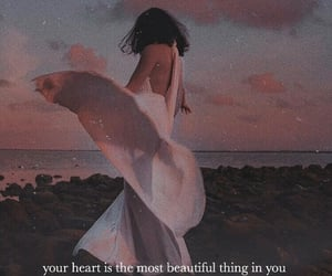 heart, real beauty, and quote image