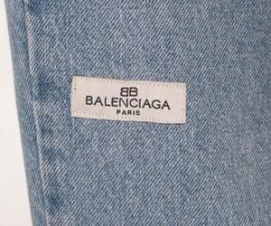 Balenciaga, fashion, and jeans image