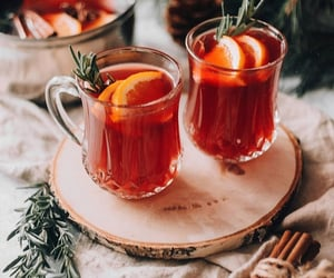 Cinnamon, punch, and winter image