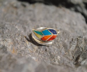 etsy, unique gift, and adjustable ring image