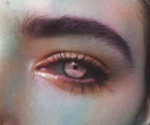 aesthetic, eye, and magic image
