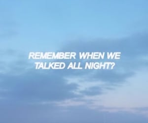 quotes, blue, and night image