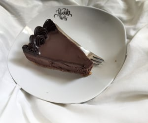 aesthetic, cakes, and chocolate cake image