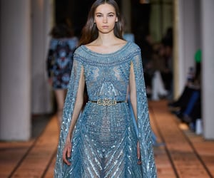 Couture, Zuhair Murad, and model image
