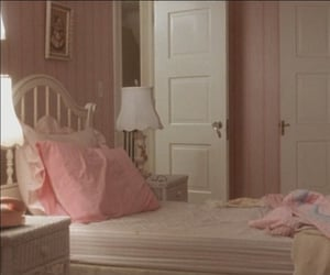 bedroom, pink, and pastel image