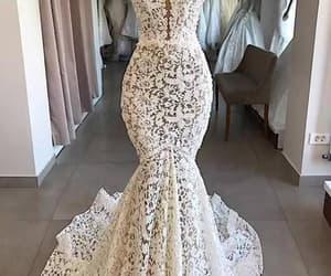 bridal dresses, lace wedding dress, and cheap bridal dress image