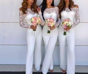 lace bridesmaid dress, wedding party dresses, and bridesmaid dresses long image