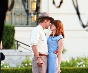 couple, ryan gosling, and la la land image