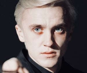 actor, draco malfoy, and harry potter image