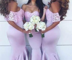 lace bridesmaid dress, bridesmaid dresses short, and wedding party dresses image